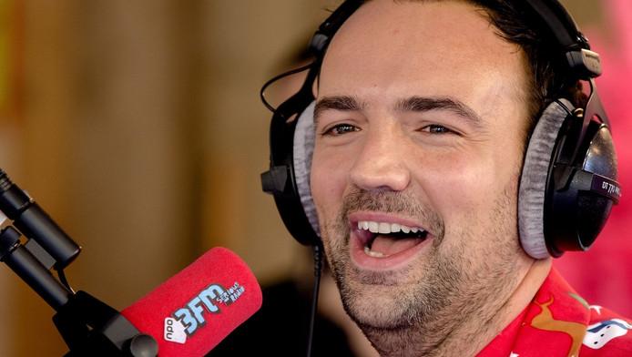 Gerard Ekdom in zijn tijd bij 3FM.