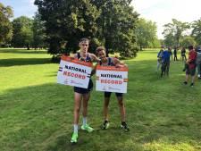 Foppen loopt nationaal record tijdens 'geheime race' in Nijmeegs Goffertpark