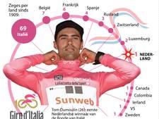 Nederland dertiende land in lijstje met Giro-winnaars