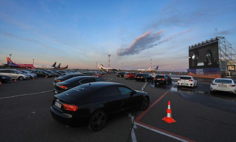 De luchthaven van Litouwen Beeld AFP