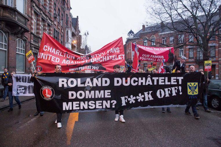 De Coalition Against Roland Duchâtelet (CARD) kondigt opnieuw acties aan in Sint-Truiden