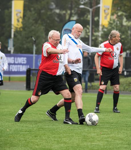 Passie en gezelligheid gaan hand in hand bij EK walking football