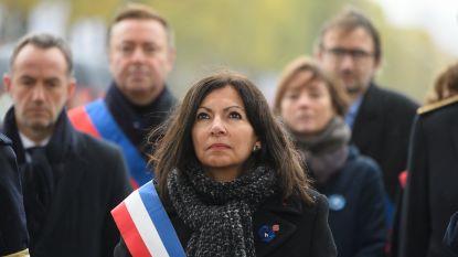 Strooiveld ter nagedachtenis van slachtoffers aanslagen 2015 in Parijs