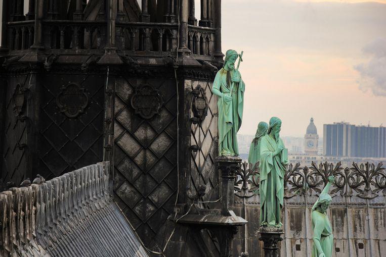 Tatiana de Rosnay: 'De Notre-Dame is een cultureel symbool, een gebouw waarmee we zijn opgegroeid en waarvan we houden.' Beeld Getty Images/iStockphoto