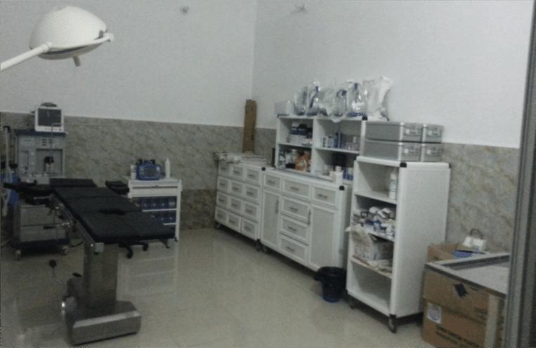 Het ziekenhuis voor de luchtaanvallen van zondag. Beeld UOSSM