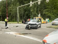 Meerdere gewonden na botsing auto's Nieuwegein