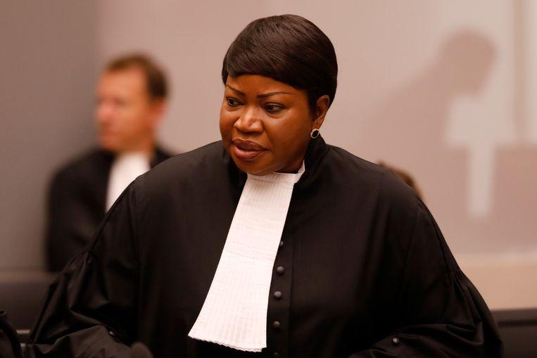 De hoofdaanklager van het strafhof, Fatou Bensouda. Beeld Hollandse Hoogte /  ANP