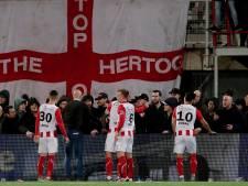 TOP Oss legt acht stadionverboden op na ongeregeldheden tegen FC Twente