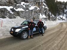 Oldenzaalse 'Heren van Boeskoolstad' genieten tijdens Arctic Challenge