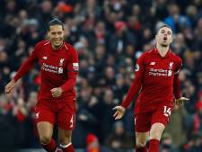 Liverpool ondanks drie tegengoals met de schrik vrij