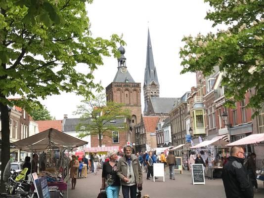 Markt in Culemborg.