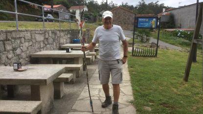 Willy Machielsen (74) wandelt Camino Finisterre (300km) voor Levensloop