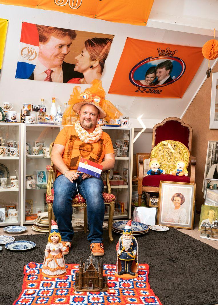 Mini Oranje Museumhouder Piet Jelsma Beeld Reyer Boxem