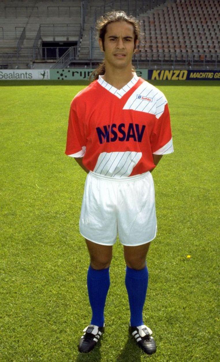 Bert Aipassa speelde begin jaren negentig 23 wedstrijden voor FC Utrecht. Foto ANP Beeld