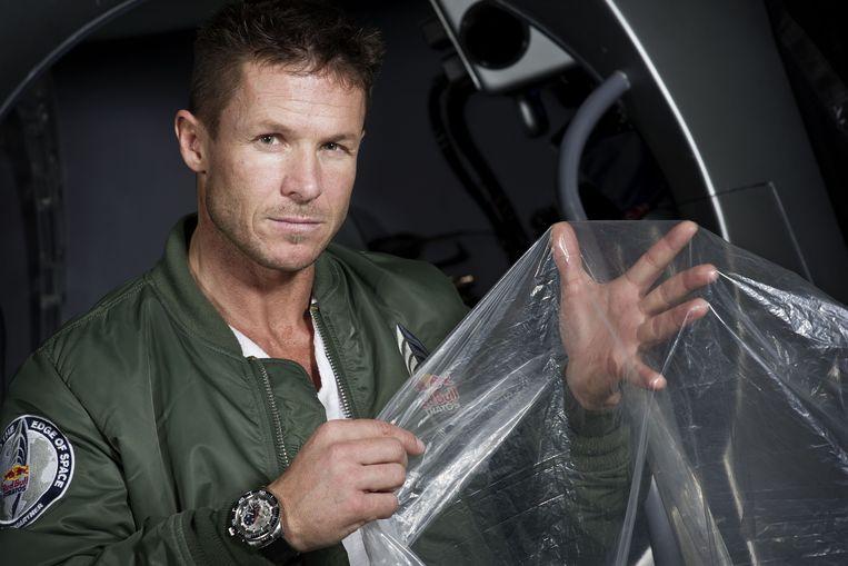 Felix Baumgartner. Beeld AFP