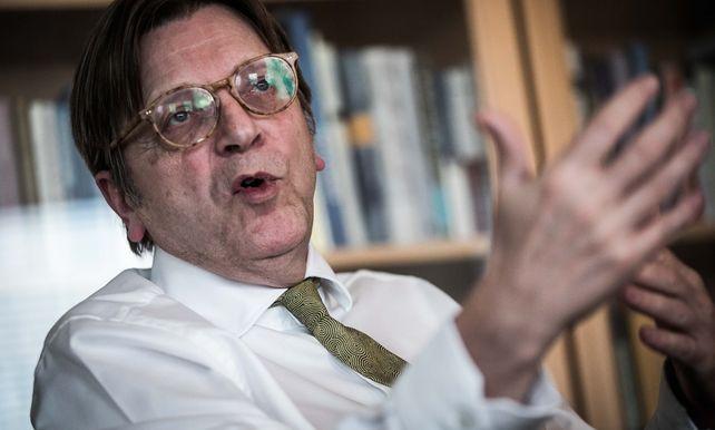 """Guy Verhofstadt: """"Europa is in gevaar"""""""