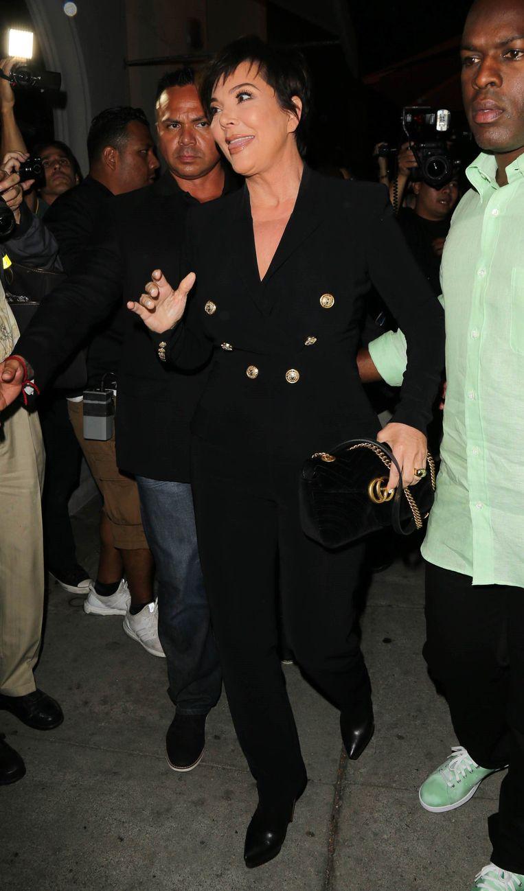 Kylie Jenner's 21st Birthday Party - Corey Gamble en Kris Jenner zijn van de partij.