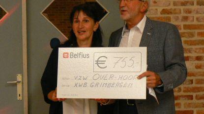 Over-Hoop krijgt 755 euro van KWB Grimbergen