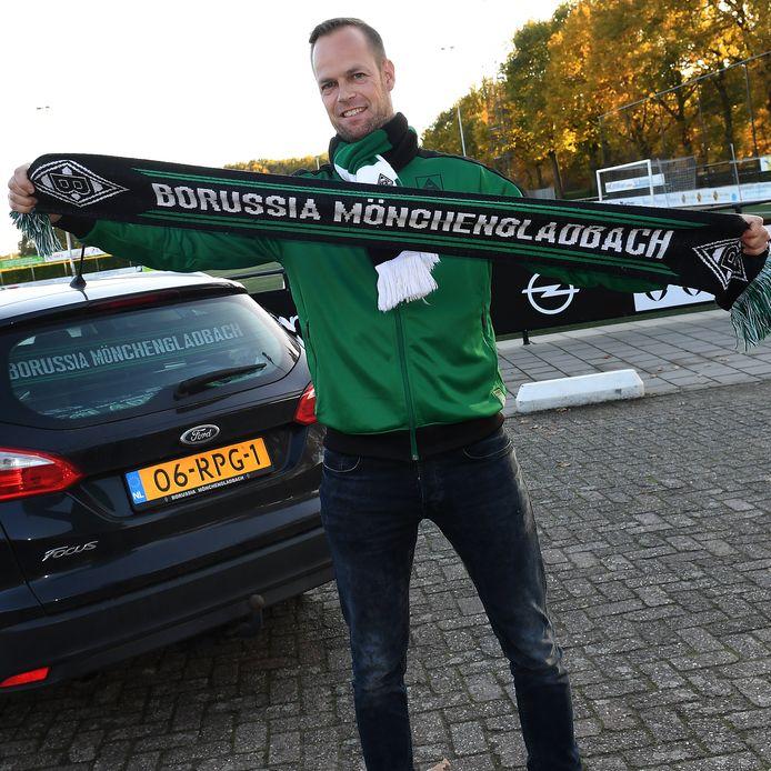Volharding-trainer Johan Vullings.