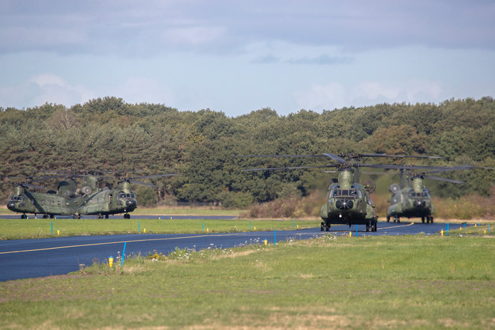 Het aantal vluchten met helikopters als Apaches en Chinook moet volgens kolonel Harm van der Have toenemen op vliegbasis Deelen. Tot vrijdag 12 oktober is er een oefening met twintig helikopters.