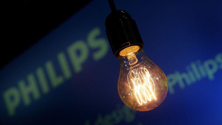 Een gloeilamp van Philips. Beeld anp