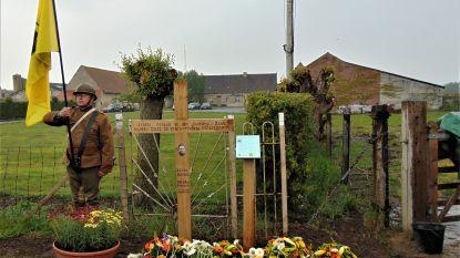 Oostvleteren onthult gedenkteken voor soldaat die tijdens WO I gefusilleerd werd