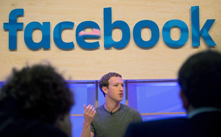 CEO van Facebook Mark Zuckerberg.