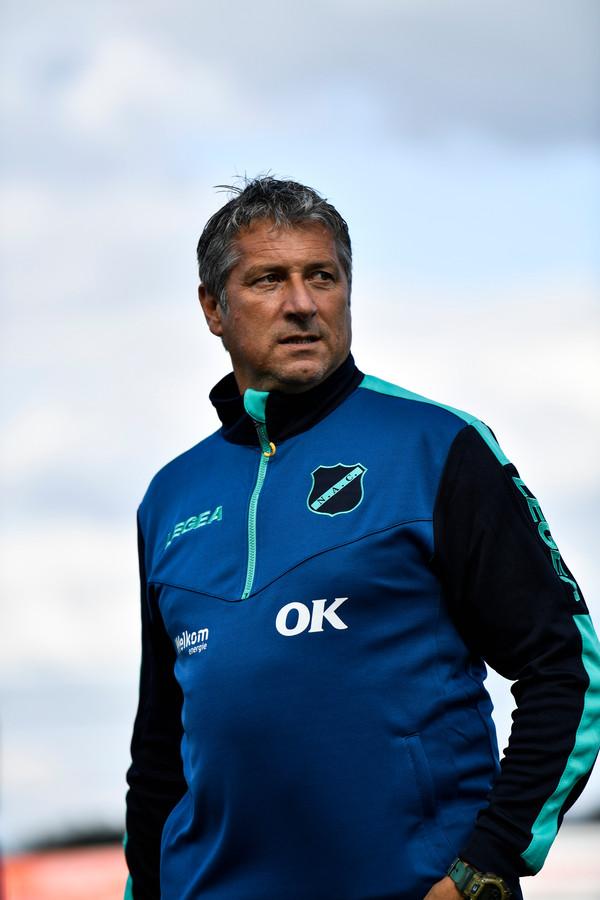 Trainer Ruud Brood.