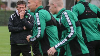 """Cercle Brugge heeft eerste training met Vercauteren achter de rug: """"Veel respect voor deze coach"""""""