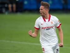 Luuk de Jong richt zich op bij Sevilla, dat naar kwartfinales Copa del Rey gaat