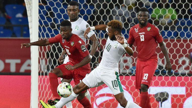 Ivoorkust speelt gelijk tegen Togo. Beeld AFP
