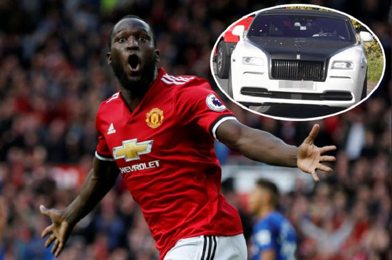Lukaku besliste om zijn Rolls Royce in een nieuw jasje te steken.