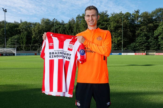 Daniel Schwaab is kort na zijn vertrek weer terug in Eindhoven.