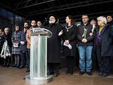 300 mensen bij vredesmanifestatie op de Dam