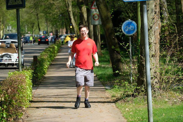 Wim Huybrechts is volop aan het trainen voor de Ten Miles nu zondag.