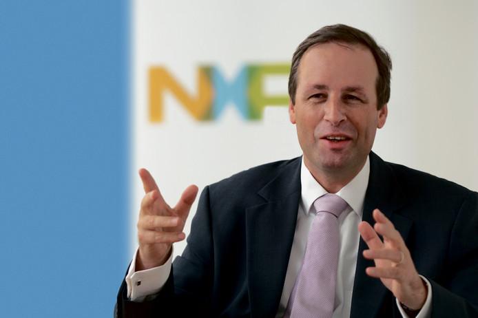 Directeur Guido Dierick van NXP Nederland.