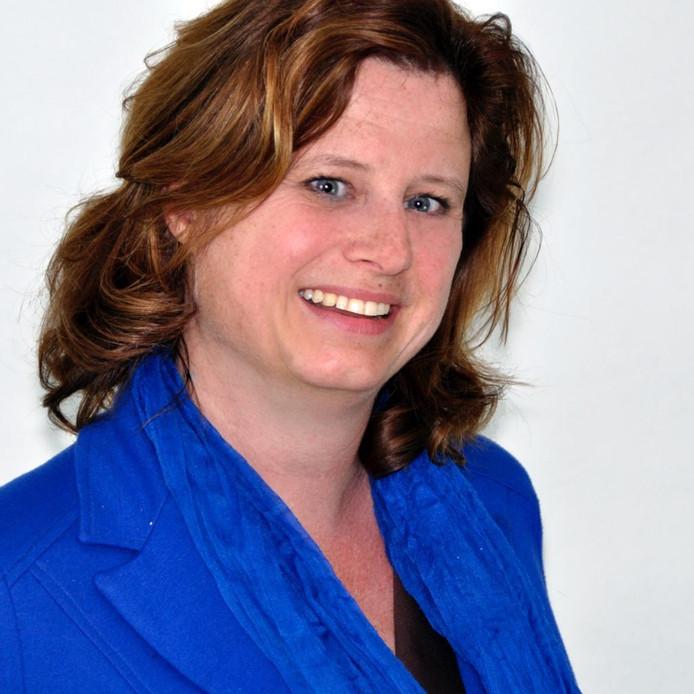 Marga Schoots uit 't Harde, kandidaat voor de Provinciale Staten van Gelderland voor de VVD.