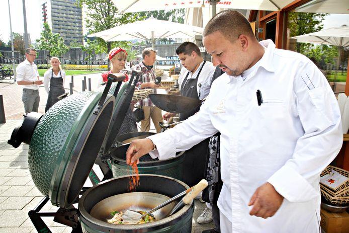 François Geurds kookt eind oktober voor dak- en thuislozen uit de regio.