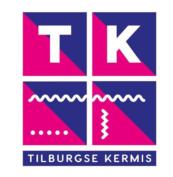 Het nieuwe logo van de Tilburgse Kermis.