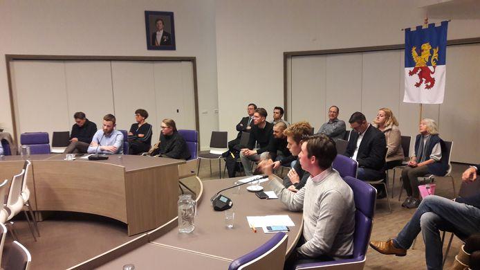De jongerenraad presenteerde zich in februari bij de gemeenteraad in Neder-Betuwe