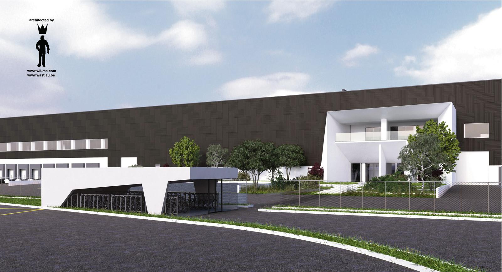 Zo wordt het Nederlandse distributiecentrum van MediaMarkt in Etten-Leur op industrieterein Vosdonk aan de Oude Kerkstraat. Tot 2016 was daar de fruit- en groentefabriek SVZ (Suiker Unie) gevestigd.