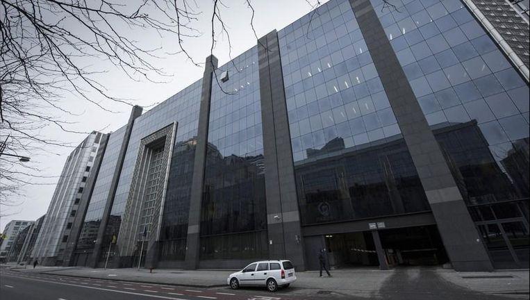 Het gebouw van de Belgische Staatsveiligheid in Brussel.