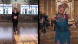 Zo oefende Taylor Swift de indrukwekkende danspasjes voor haar nieuwe videoclip