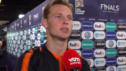 "VIDEO. Nederlanders likken hun wonden na verloren Nations League-finale: ""We kunnen beter"""
