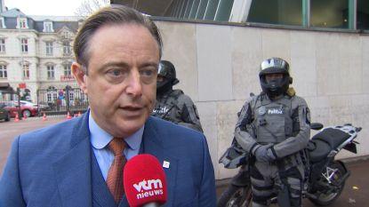 """De Wever: """"Ik was aan het koken van woede toen ik nota-Magnette las"""""""