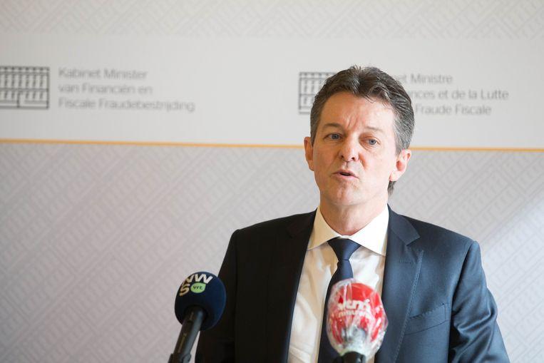 Febelfin-voorzitter Johan Thijs.