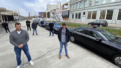 """Kortrijkse taxibedrijven liggen volledig plat: """"Het is nu onverantwoord om een taxi te nemen"""""""