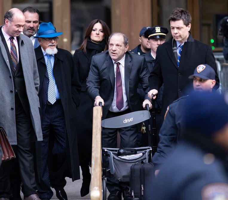 Harvey Weinstein krijgt binnenkort zijn uitspraak.