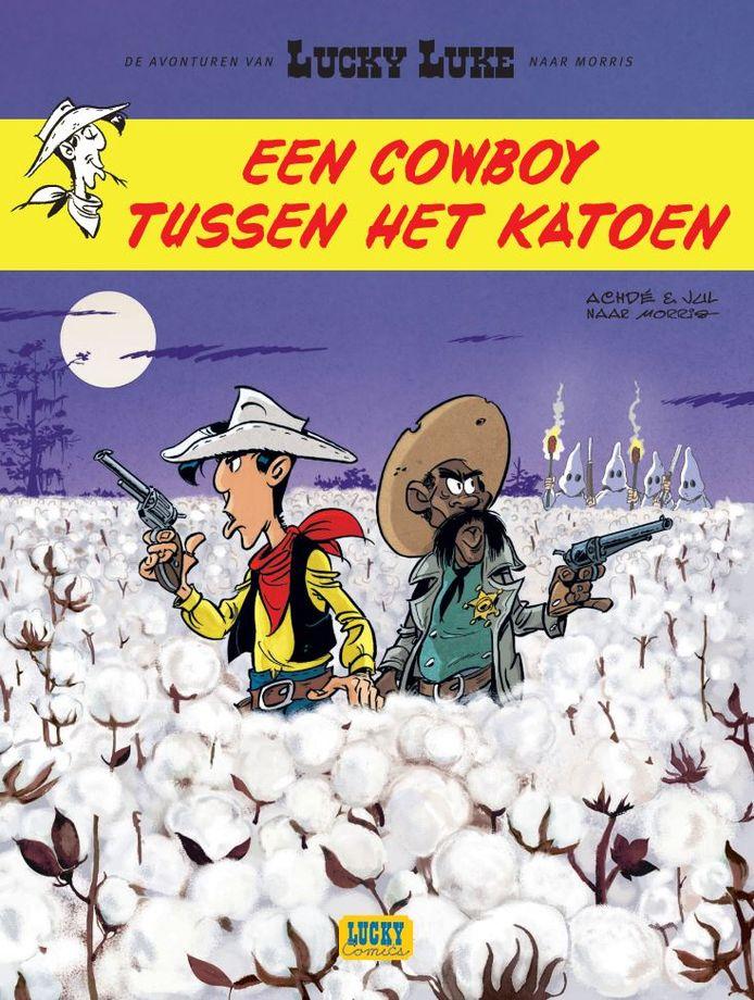 In het nieuwste album 'Een cowboy tussen het katoen' erft Lucky Luke een katoenplantage in Louisiana. Aan de hand van storyboards, originele platen en archiefmateriaal gunnen de stripmakers je een blik op het creatieproces.