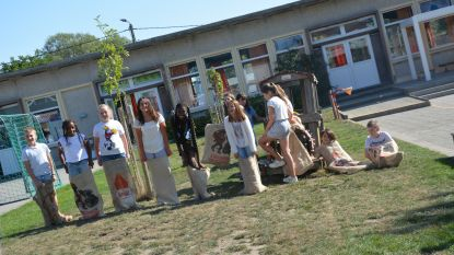 Gezellige drukte in GO! basisschool Klim Op Zandbergen